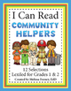Community Helpers Grades 1 & 2 Literacy Centers