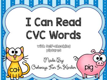 I Can Read CVC Words!