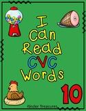 I Can Read CVC Words  #reade4summer
