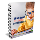 I Can Read: CVC Words Activity Pack