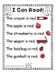 I Can Read Color Words