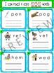 I Can Read & Copy CVC Words - 120 Phonics Sounding Cards