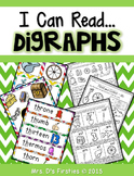 I Can Read Digraphs!