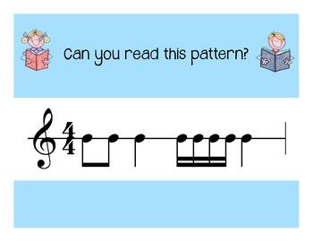 I Can Read!  Duple Rhythm Patterns Level 3