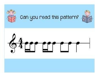 I Can Read! Duple Rhythm Patterns Level 4