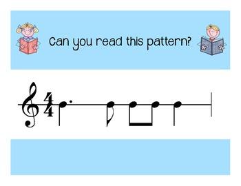 I Can Read!  Duple Rhythm Patterns Level 5