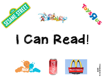 I Can Read! Environmental Print Book
