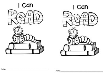 I Can Read Environmental Print Book Freebie