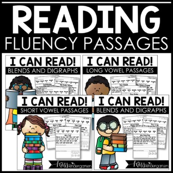 Reading Fluency Passages {short & long vowel bundle}