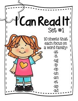 I Can Read It Set #1