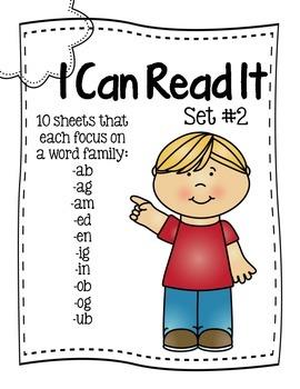 I Can Read It Set #2