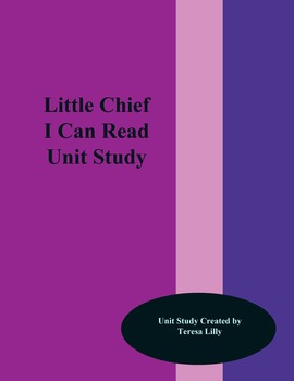 Little Chief  I Can Read Unit Study