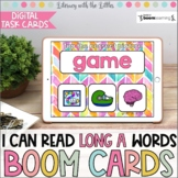 I Can Read Long A Words BOOM Cards | Digital Task Cards |
