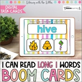I Can Read Long I Words BOOM Cards | Digital Task Cards |