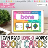 I Can Read Long O Words BOOM Cards | Digital Task Cards |