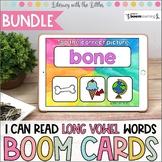 I Can Read Long Vowel Words BOOM Cards Bundle | Digital Ta