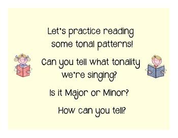 I Can Read!  Major Tonality Patterns Level 3