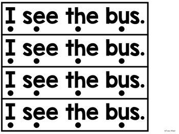 I Can Read!  Mix it and Fix it Sentences!