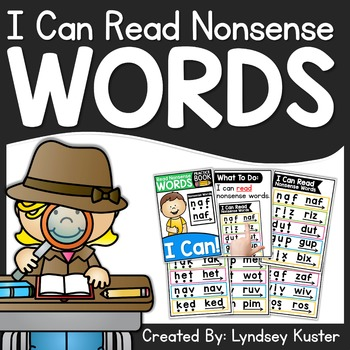 I Can Read Nonsense Words