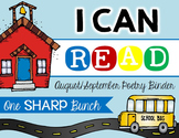 I Can Read Poetry Binder {August & September}