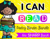 I Can Read Poetry Binder {Bundle}