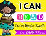 I Can Read Poetry Binder {Bundle}