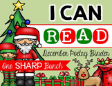 I Can Read Poetry Binder {December}