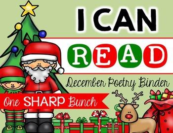 I Can Read Poetry Binder {December}