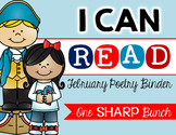 I Can Read Poetry Binder {February}