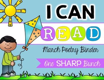 I Can Read Poetry Binder {March}