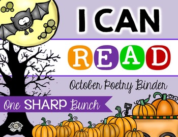 I Can Read Poetry Binder {October}
