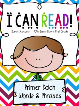 I Can Read: Primer Fluency Phrases!