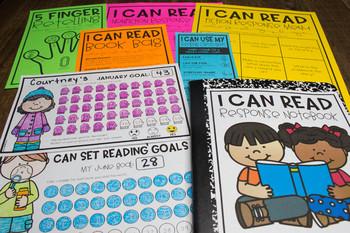 I Can Read Reading Response Menus & Goal Tracker