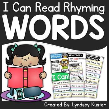 I Can Read Rhyming Sentences