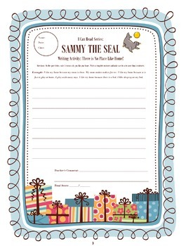 I Can Read: Sammy the Seal Worksheets