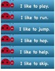 I Can Read Sentences! Ladybug Theme