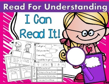 I Can Read Sentences for Understanding! Kindergarten Readi