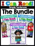 I Can Read Simple Sentences NO PREP (THE BUNDLE)