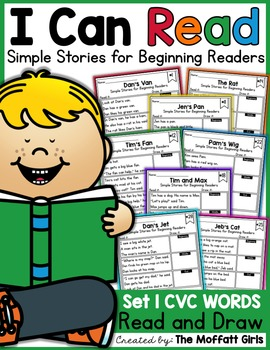 I Can Read: Simple Stories for Beginning Readers (Set 1)