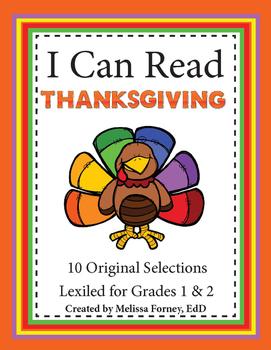 Thanksgiving Grades 1 & 2 Literacy Center