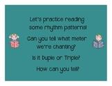 I Can Read! Triple Rhythm Patterns Level 2