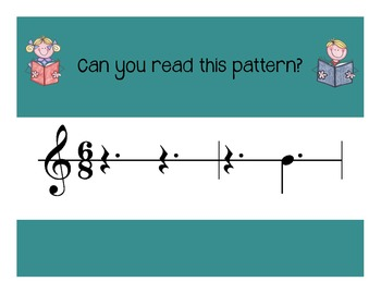 I Can Read! Triple Rhythm Patterns Level 2