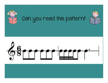 I Can Read! Triple Rhythm Patterns - Level 4