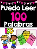 I Can Read a 100 Words in SPANISH, 100th Day of School