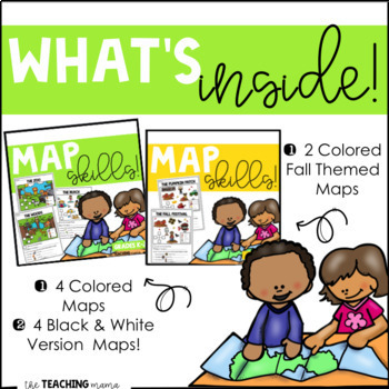 Distance Learning Reading Maps Bundle!