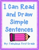 I Can Read and Draw Simple Sentences