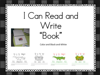 I Can Read and Write Book