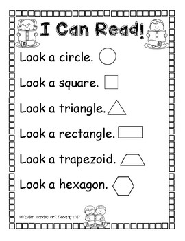 I Can Read look