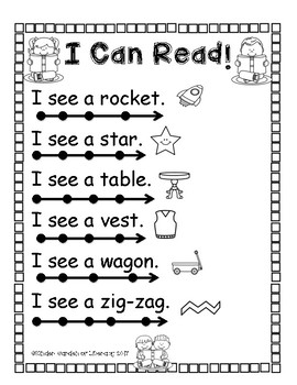I Can Read see
