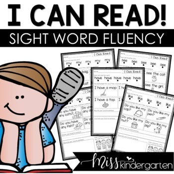 Sight Word Practice • Sight Word Fluency (Can be used for distance learning)
